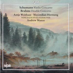 Schumann Violinkonzert Brahms Doppelkonzert Antje Max