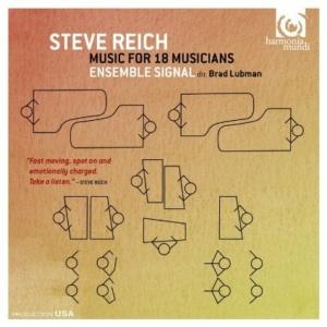 BL Ensemble Signal Reich Music for 18 Musicians CR harmonia mundi