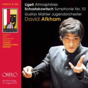 2011 Orfeo C797111 B Ligeti Schostakowitch David Afkham