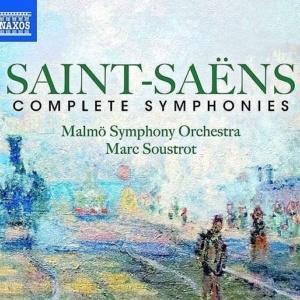 MS CD Saint Saens Complete Symphonies Naxos
